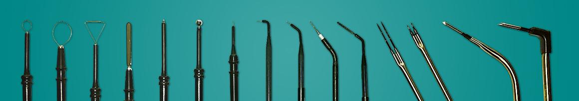 Elektródok - sebészet rádiófrekvencia használatával
